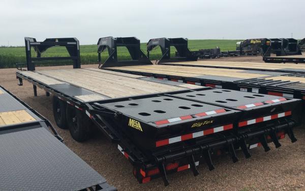 2021 Big Tex 14GN 8.5 x 25 Flatbed Trailer