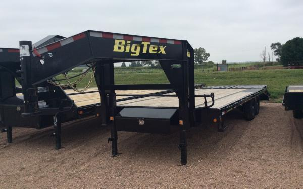 2021 Big Tex 14GN 8.5 x 25 Flatbed Trailer