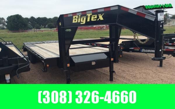2022 Big Tex 14GN 8.5 x 25 Flatbed Trailer