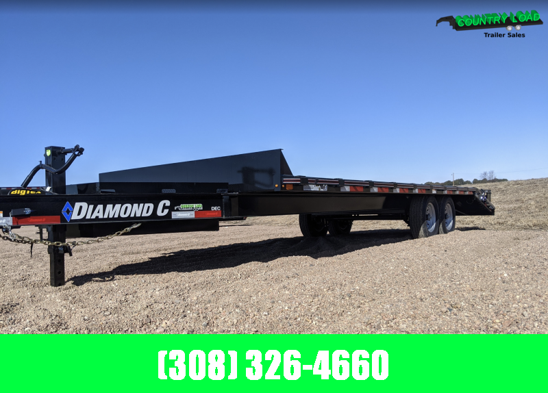 2021 Diamond C DEC Equipment Trailer