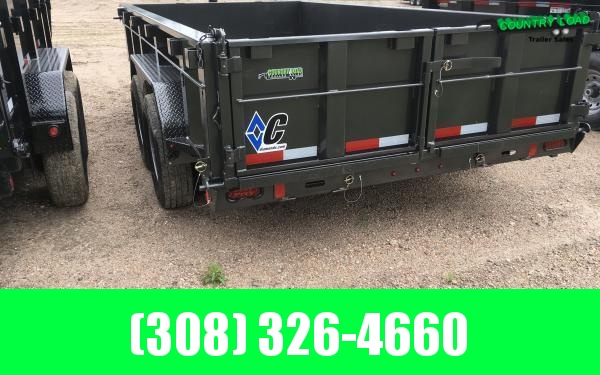 "2020 Diamond C LPT 82"" x 14' Dump Trailer"
