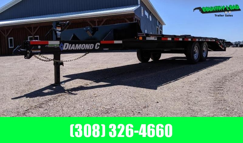 2020 Diamond C Trailers DEC 24x102 Equipment Trailer