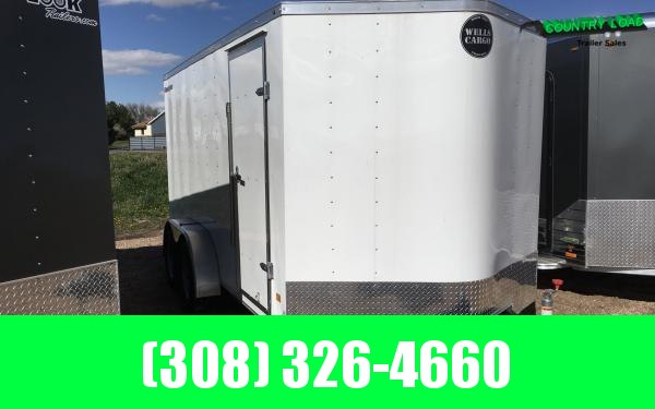 Wells Cargo FT 7 x 14 Enclosed Cargo Trailer