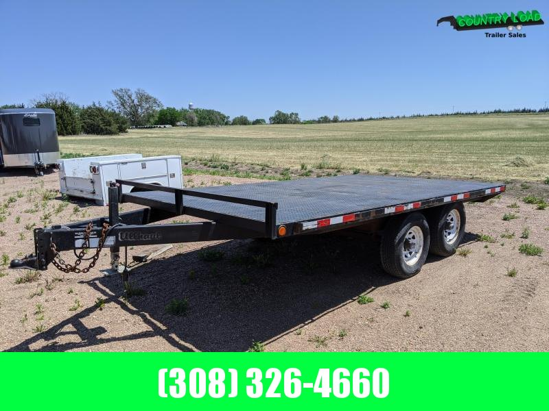 2011 Other 14' Deckover Equipment Trailer