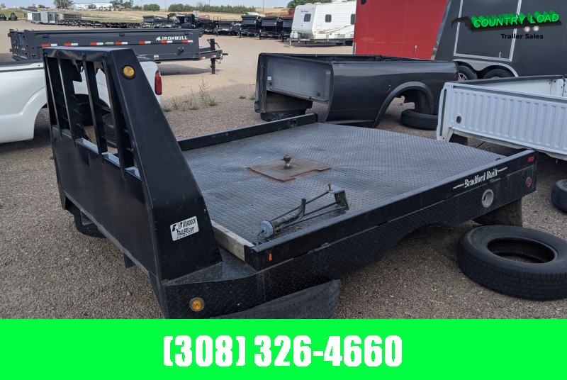 USED Bradford Cabin Chassis Dually flatbed
