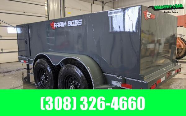2020 Farm Boss 5 x 10 990 gal. Fuel Trailer