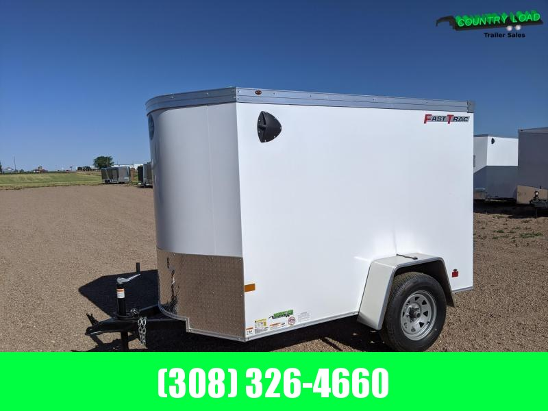 2021 Wells Cargo Fast Trac 5x8 Enclosed Cargo Trailer