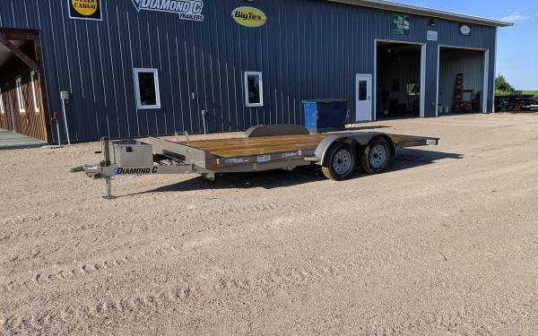 "2020 Diamond C GTF 83"" x 18' Tilt Car / Auto Hauler"