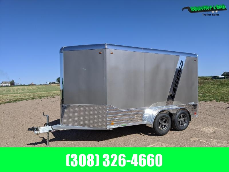 2021 Legend Trailers 7x15 Deluxe V-Nose Enclosed Cargo Trailer