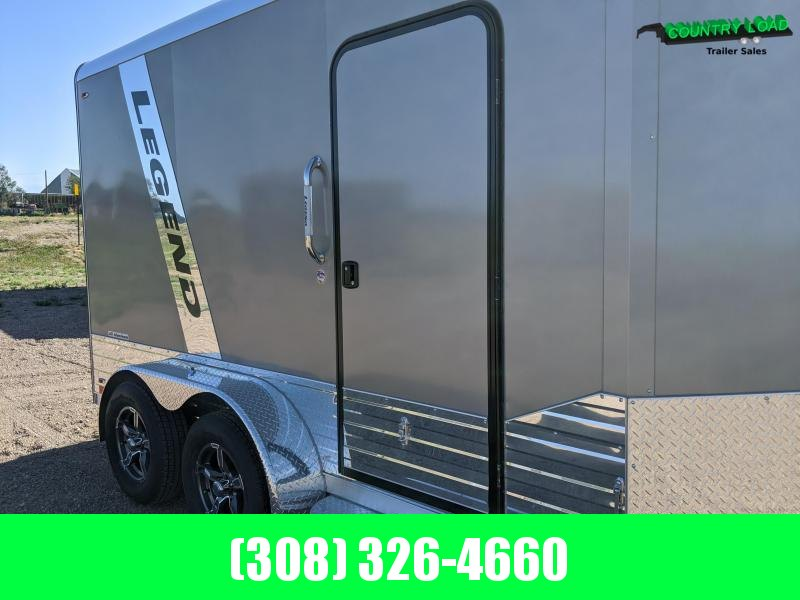 Legend Trailers 7x15 Deluxe V-Nose Enclosed Cargo Trailer