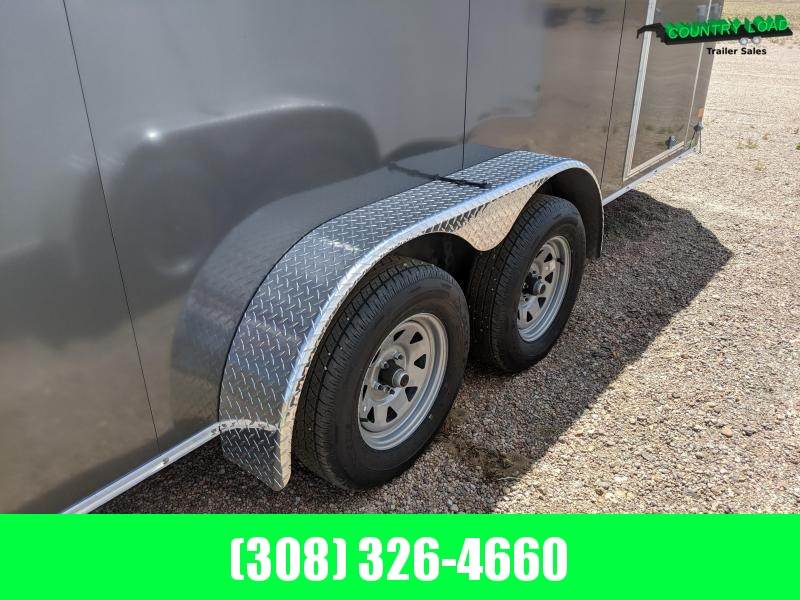 Wells Cargo 7x16 Road Force Enclosed Cargo Trailer