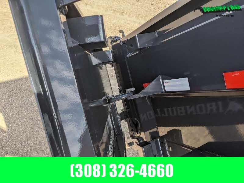 2021 Iron Bull DWB 14x83 Dump Trailer