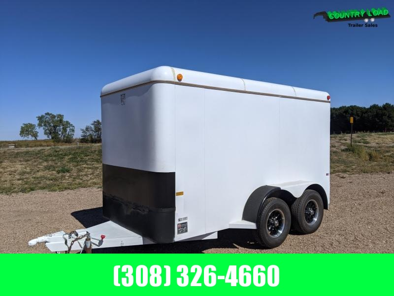 USED 6x12 Steel Cargo Trailer