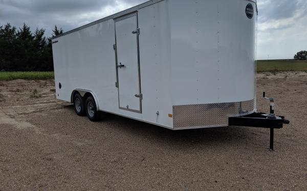 Wells Cargo FT 8.5 x 20 Enclosed Cargo Trailer