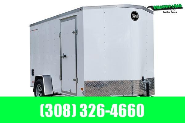 2021 Wells Cargo 6x12 Enclosed Cargo Trailer 7' Inside