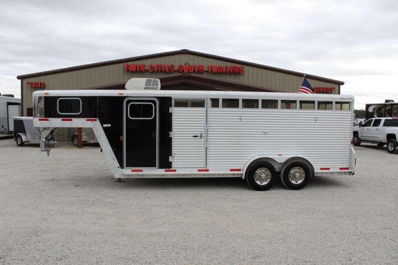 2009 Exiss Trailers stock Livestock Trailer