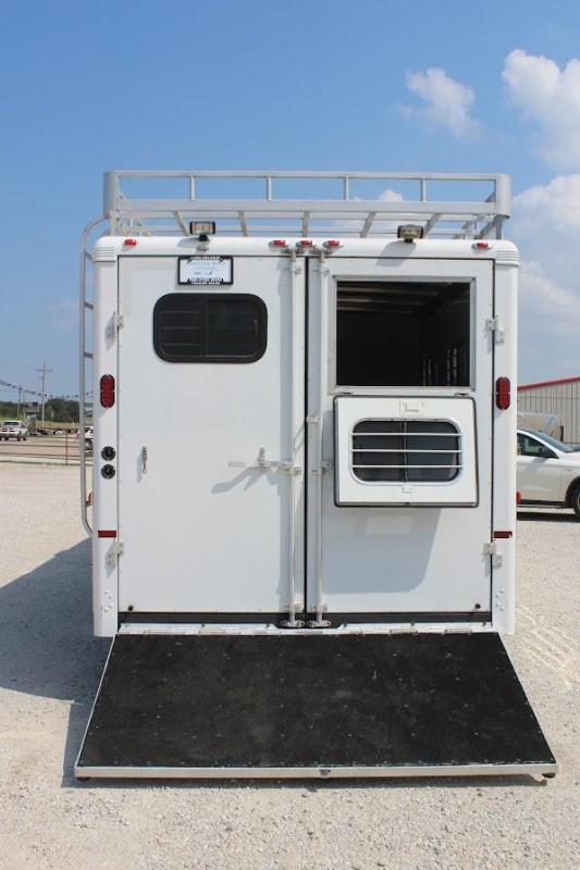 2005 Sundowner Trailers Sunlite 727 Horse Trailer