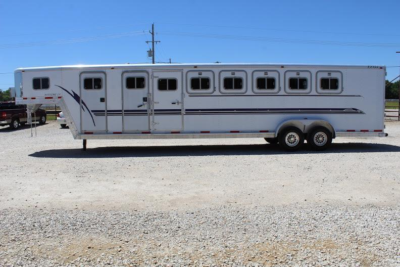 2000 Exiss Trailers MidTack Horse Trailer