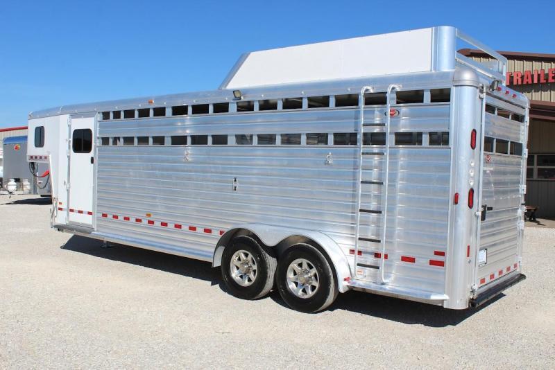 2014 Hart Trailers Stock Combo Livestock Trailer