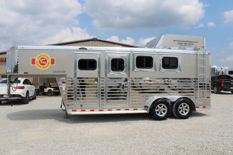 2018 Sundowner 3 horse slant gooseneck