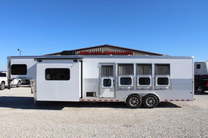 """2018 Sundowner 4 horse with 11'6"""" Living Quarter"""
