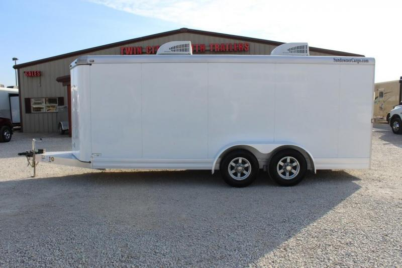 2021 Sundowner 20' Cooldown trailer