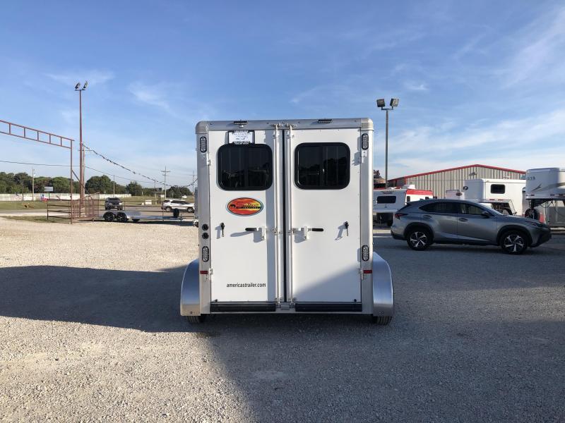 2022 Sundowner 2 horse slant bumper pull