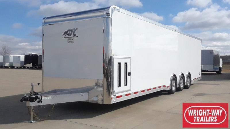 2021 ATC 8.5'X32' ALUMINUM RACE TRAILER Car / Racing Trailer