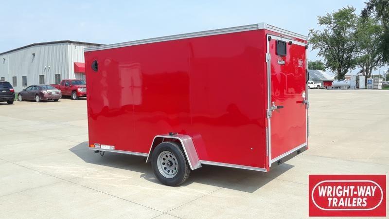 2022 United Trailers 6X12 V NOSE Enclosed Cargo Trailer