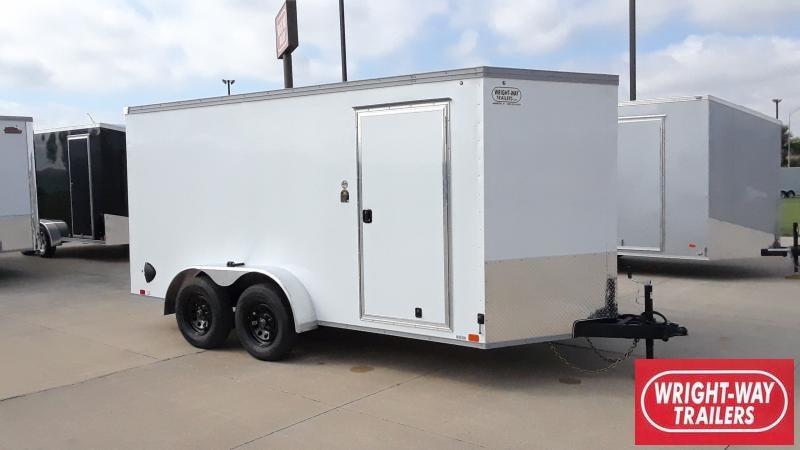 2022 United Trailers 7X14 V NOSE ENCLOSED Enclosed Cargo Trailer