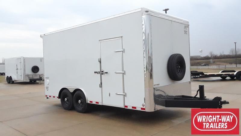 2021 Bravo Trailers 8.5X18 EQUIPMENT ENCLOSED Enclosed Cargo Trailer