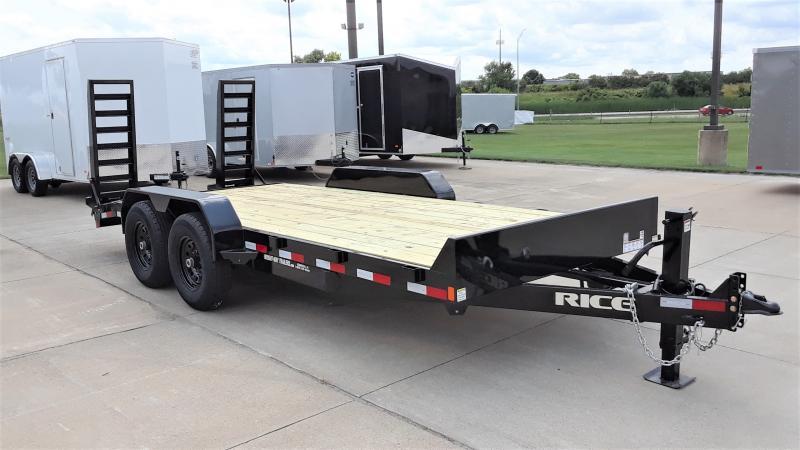 2021 Rice 18' EQUIPMENT Equipment Trailer