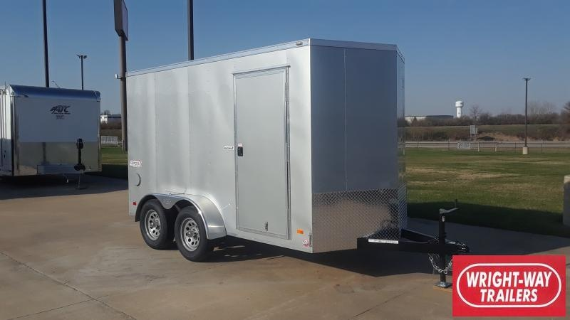 2021 Bravo Trailers 6X12 V NOSE TANDEM ENCLOSED Enclosed Cargo Trailer