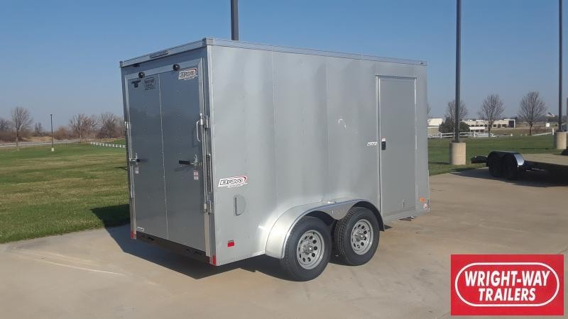 2021 Bravo Trailers 6X12 V NOSE TANDEM ENCLOSED Enclosed Cargo Trailer