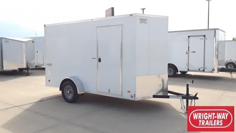 2022 Bravo Trailers 6X12 V NOSE SCOUT Enclosed Cargo Trailer