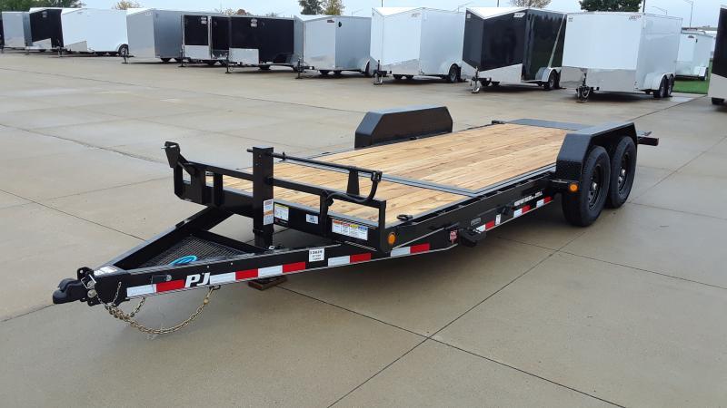 """2022 PJ Trailers 82""""X20' TILT EQUIPMENT Equipment Trailer"""