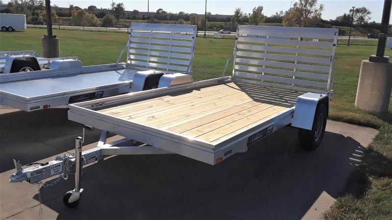 2021 Aluma 78 X 12 WOOD FLOOR Utility Trailer
