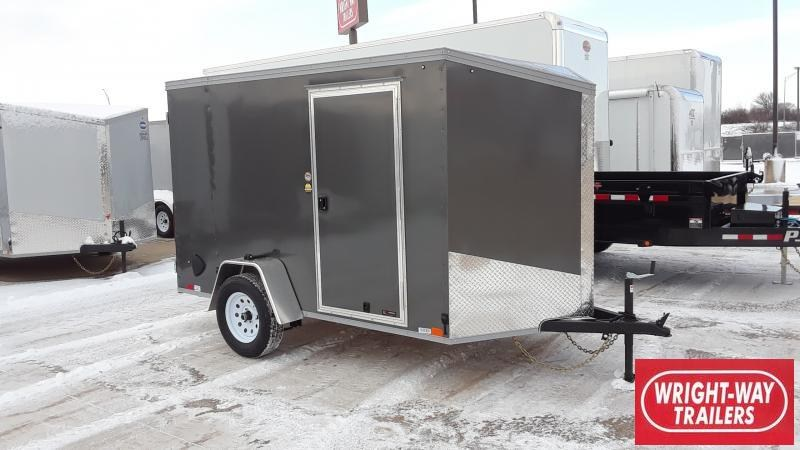 2021 United Trailers 6X10 V NOSE CARGO Enclosed Cargo Trailer