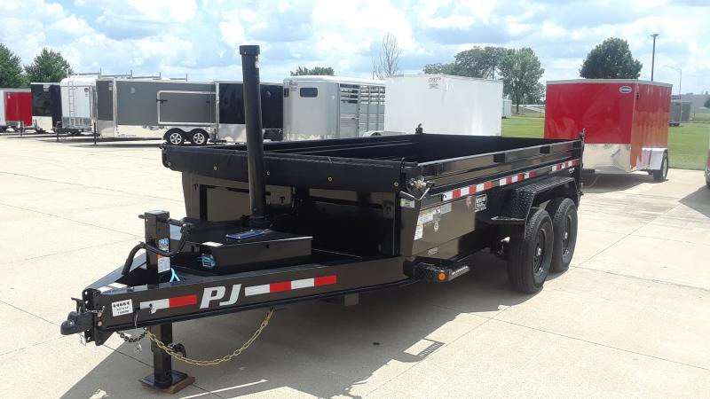 2021 PJ Trailers LOW PRO TELESCOPIC DUMP Dump