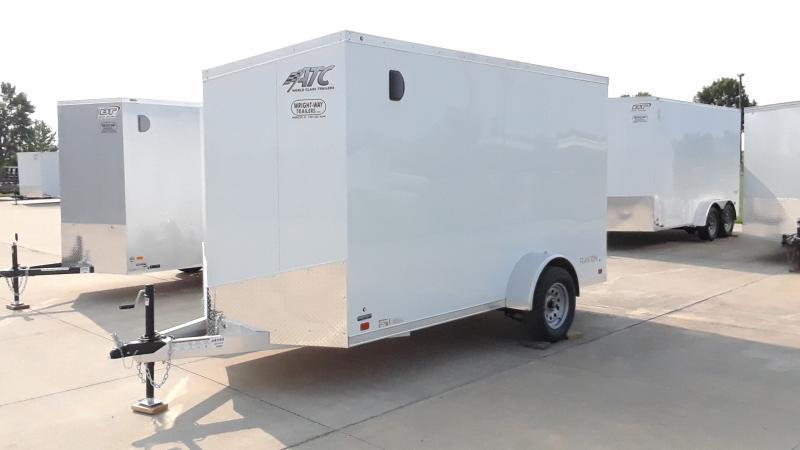 2022 ATC 6X12 ALUMINUM CARGO Enclosed Cargo Trailer