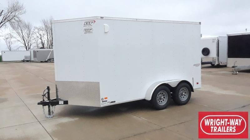 2021 Bravo Trailers 7X12 V NOSE CARGO Enclosed Cargo Trailer
