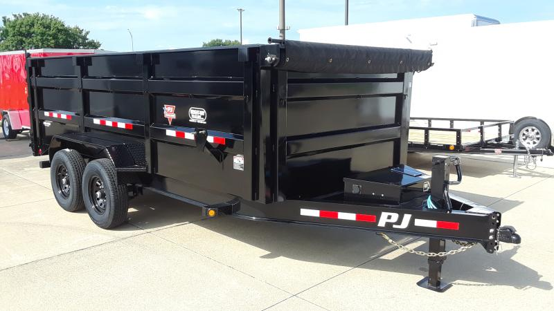 2021 PJ Trailers LOW PRO HIGH SIDE DUMP Dump