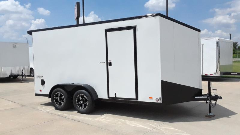 2021 Bravo Trailers 7X14 V NOSE CARGO SCOUT Enclosed Cargo Trailer