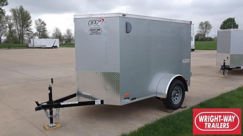 2021 Bravo Trailers 5X8 ENCLOSED Enclosed Cargo Trailer