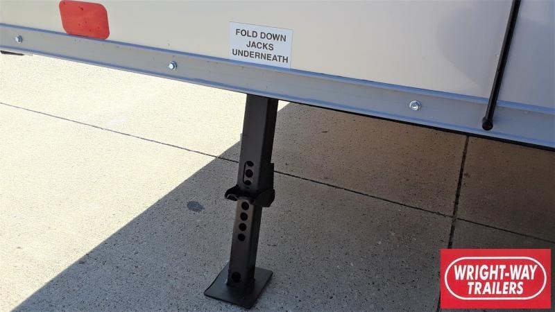 2022 United Trailers 6X12' V NOSE ENCLOSED Enclosed Cargo Trailer