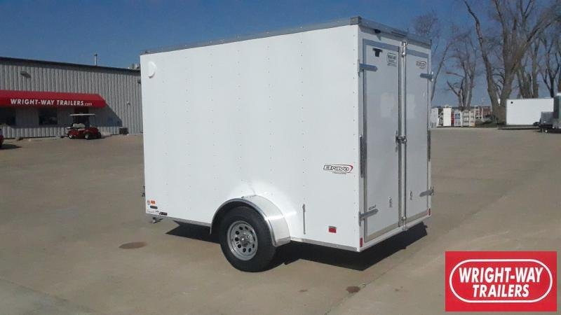 2021 Bravo Trailers 6X10 V NOSE CARGO Enclosed Cargo Trailer