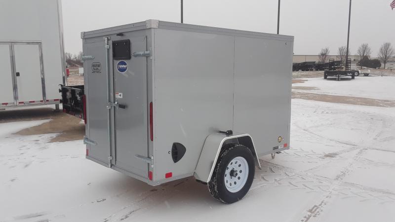 2021 United Trailers 5X8 V NOSE ENCLOSED Enclosed Cargo Trailer