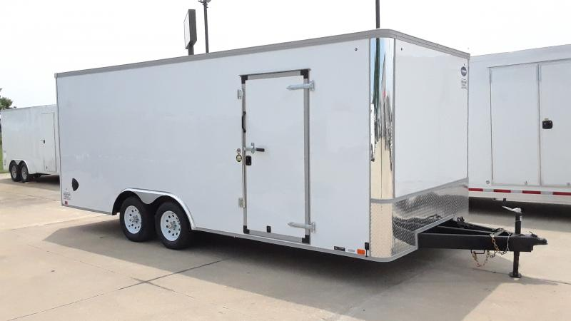 2021 United Trailers 8.5x20 FLAT FRONT CAR TRAILER Car / Racing Trailer