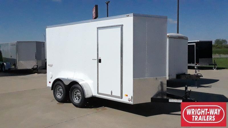 2021 Bravo Trailers 6X12 TANDEM CARGO Enclosed Cargo Trailer