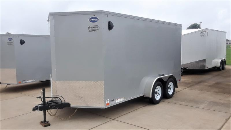 2021 United Trailers V NOSE CARGO Enclosed Cargo Trailer
